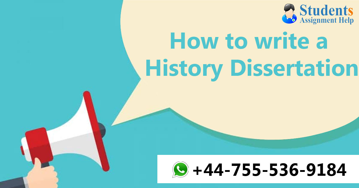 How to write a History Dissertation