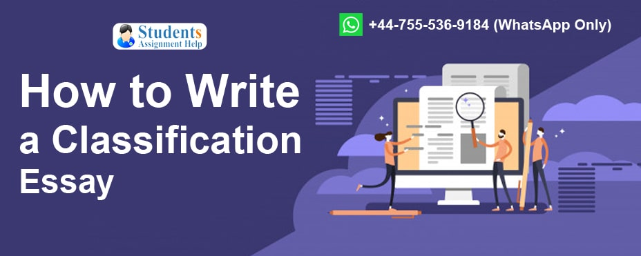 Classification Essay writing tips