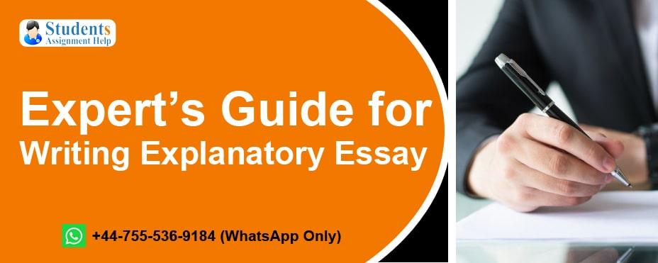 Writing Explanatory Essay