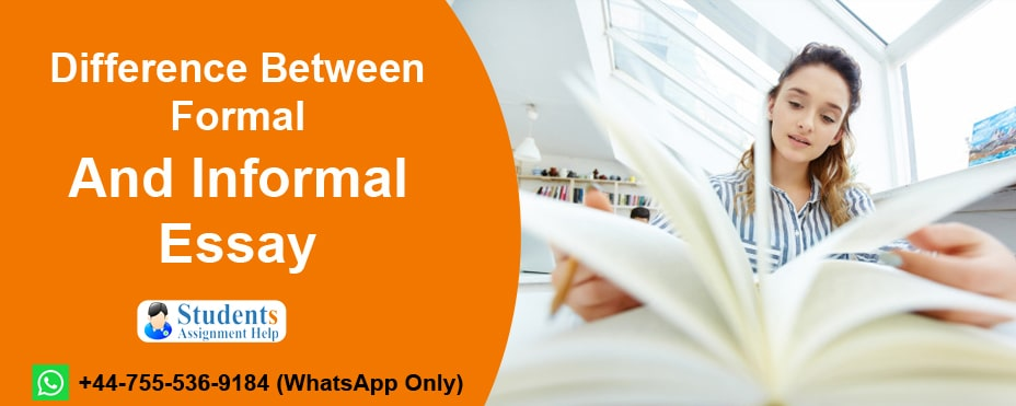 Formal And Informal Essay difference