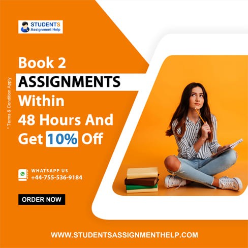 Book 2 Assignments Within 48 Hours And Get 10 Off