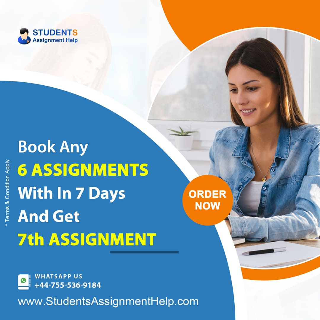 Book Any 6 Assignments With In 7 Days And Get 7th Assignment