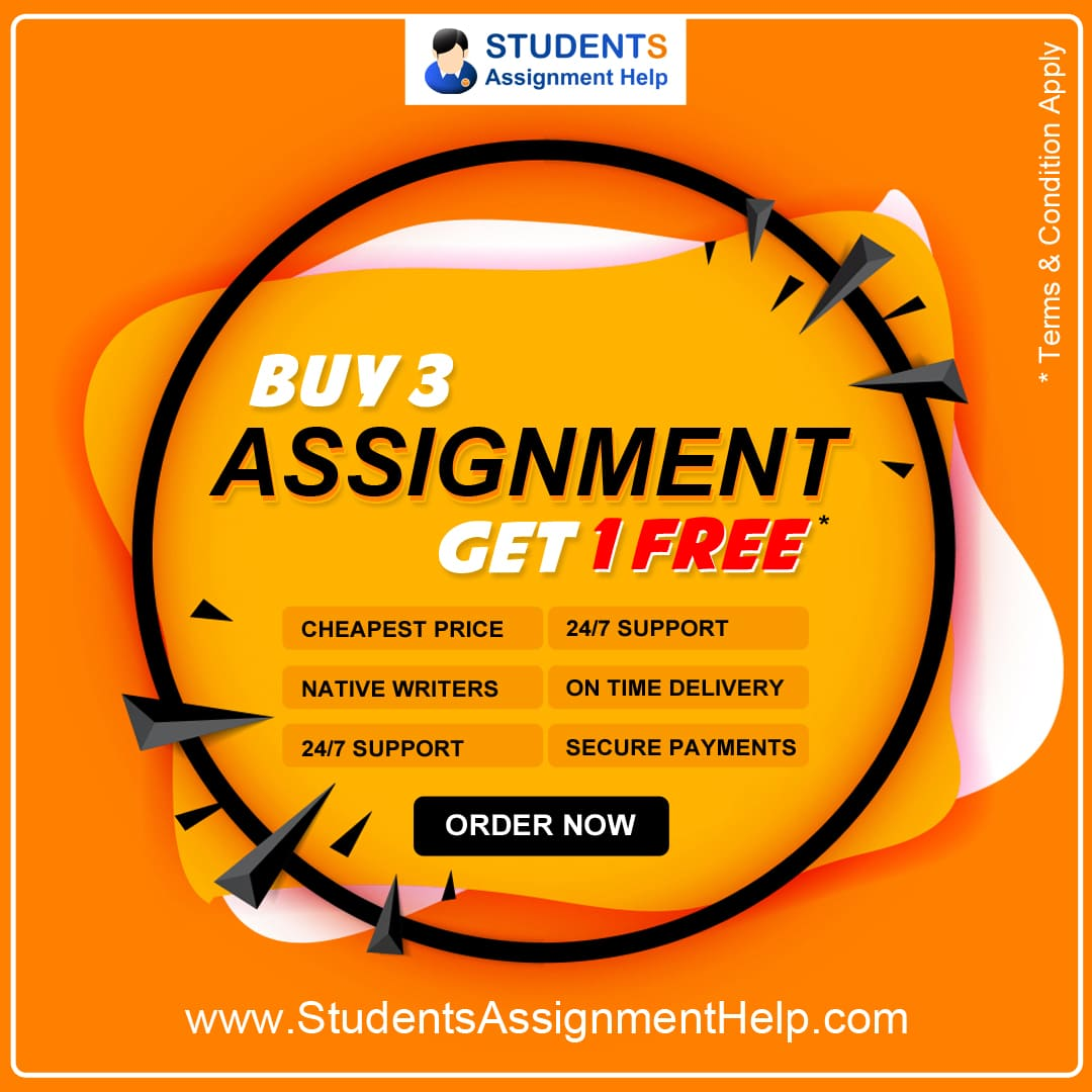 Buy 3 assignment get 1 free