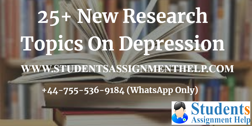 25+ New Research Topics On Depression1552654033-542026