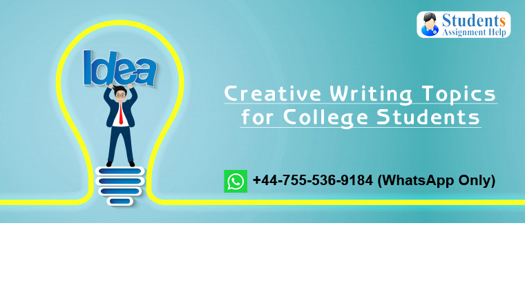 Creative Writing Topics for College Students
