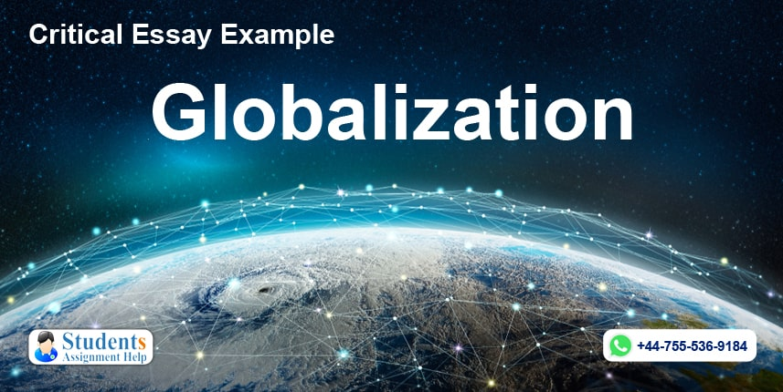 Critical Essay Example - Globalization
