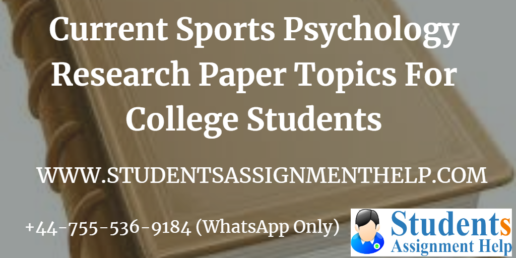 Current Sports Psychology Research Paper Topics For College Students1552737407-156197