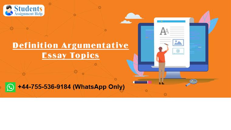 Definition Argumentative Essay Topics