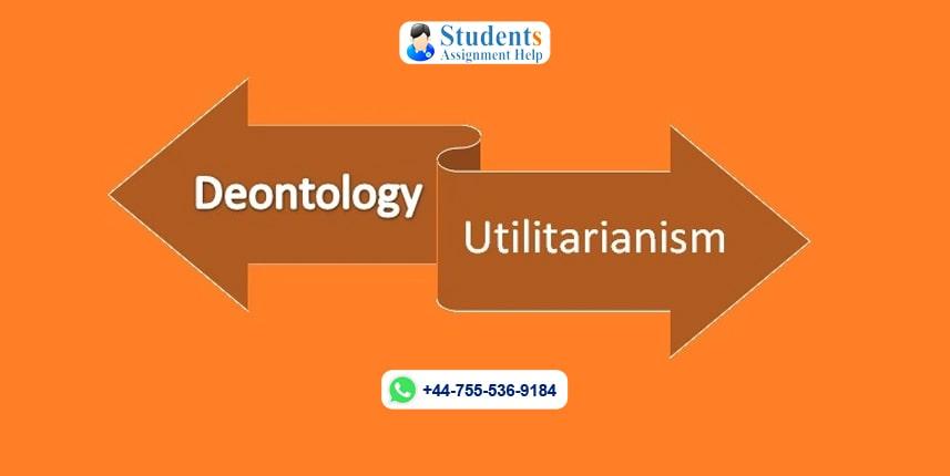 Deontology Versus Utilitarianism