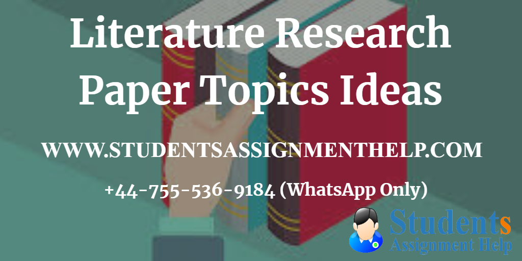 list of interesting contemporary literature research paper topics  topics for essay and research paper on history of english literature