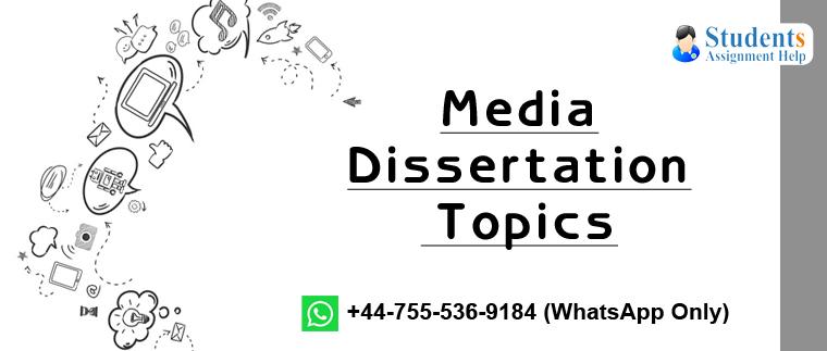 media dissertation examples
