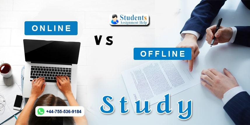 Online Vs Offline Study