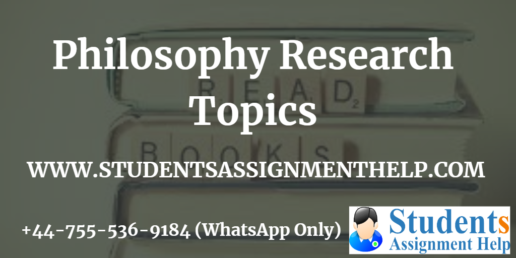 Philosophy Research Topics1553250857-238550