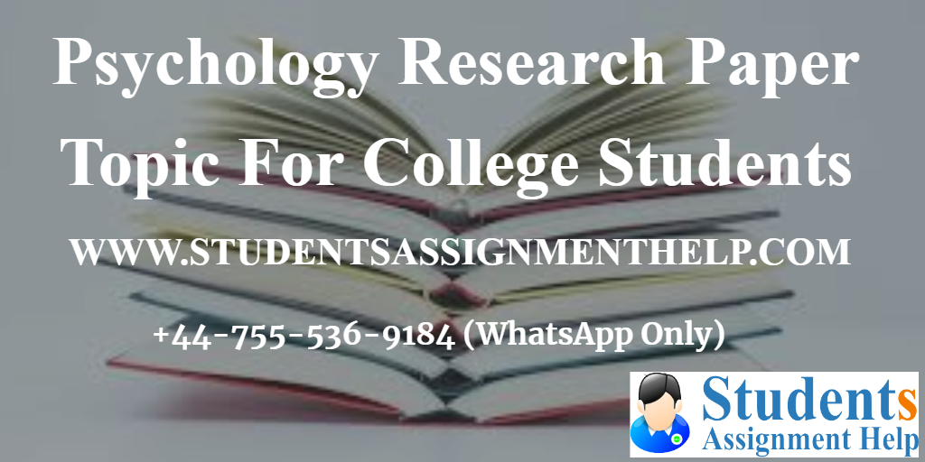 Psychology Research Paper Topic For College Students1552655265-402619