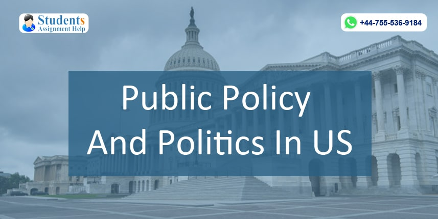 Public Policy And Politics In US