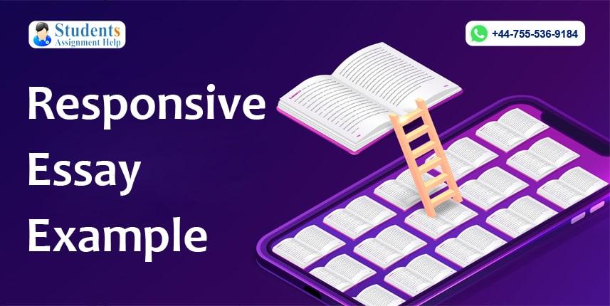 Responsive Essay Example