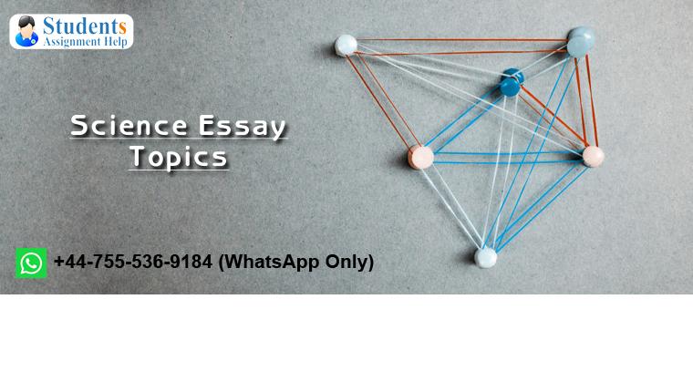 Science Essay Topics