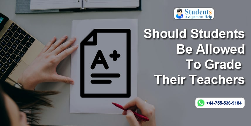 Should Students Be Allowed To Grade Their Teachers