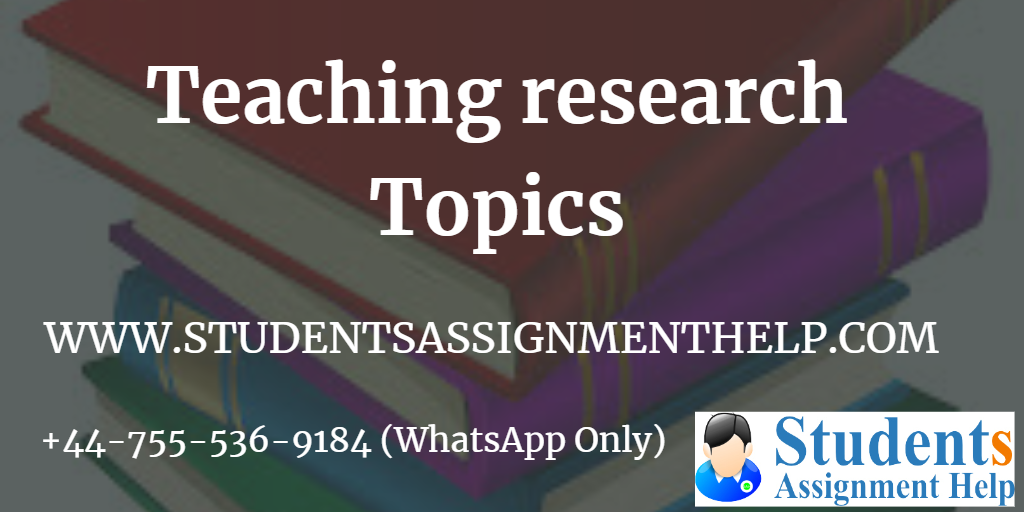 Teaching research Topics1554199852-291163