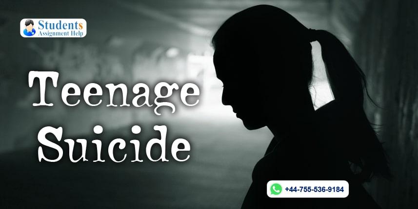 Teenage Suicide