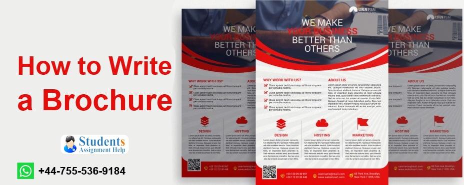 How to Write a Brochure