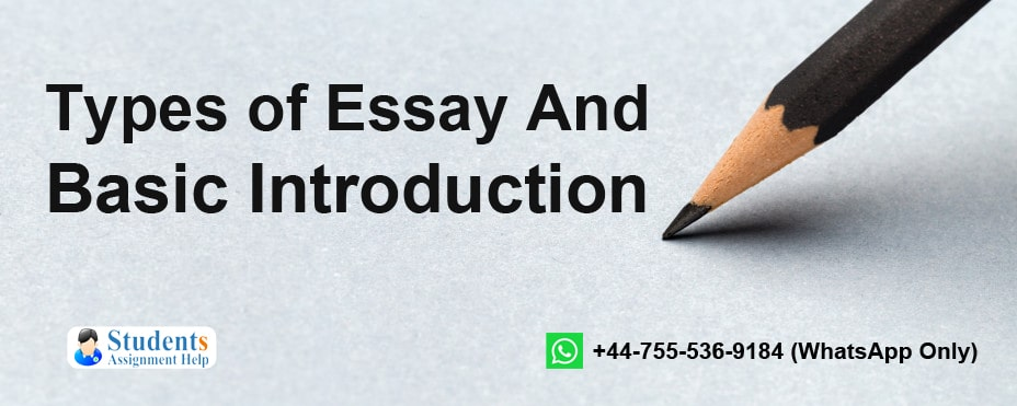 Types of Essay And Basic Introduction-min