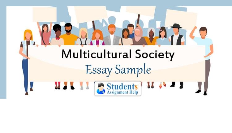 Multicultural Society Essay Sample