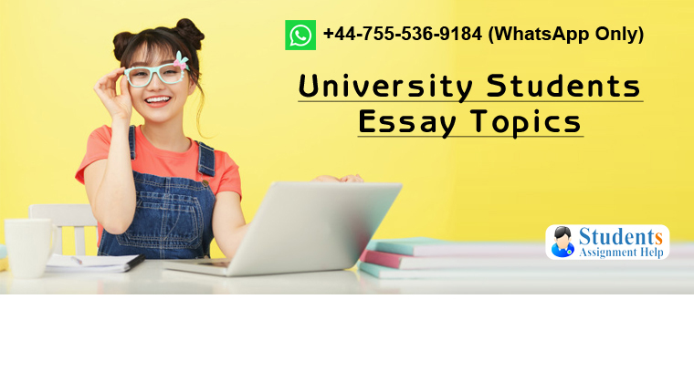 University Students Essay Topics
