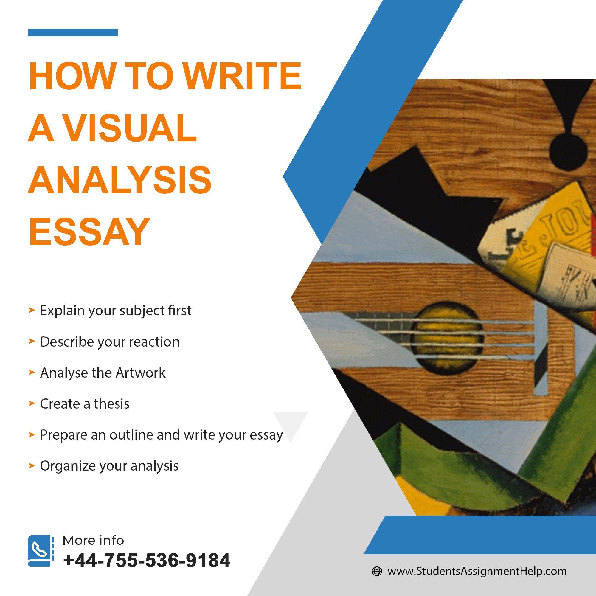Visual Analysis Essay Outline Writing – Step By Step Guide