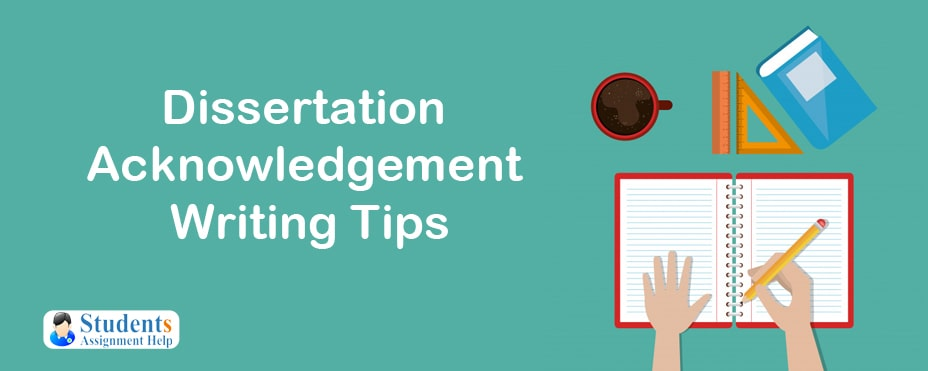Dissertation Acknowledgement Writing Tips