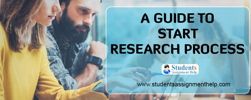 A Guide to Start Research Process