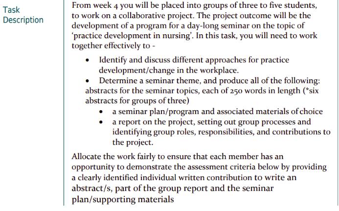 CNA802 Assessment Task 3 Reflective Paper Sample