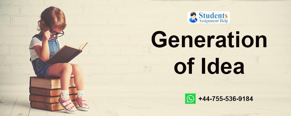 Generation of Idea