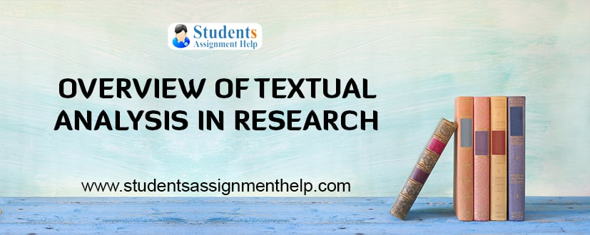 Overview of Textual Analysis in Research