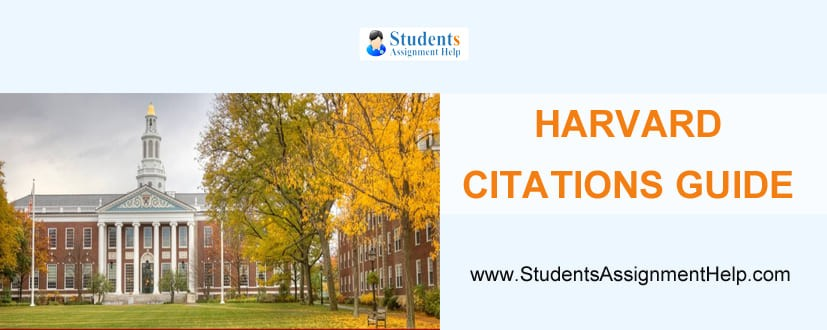 Harvard Citations Guide
