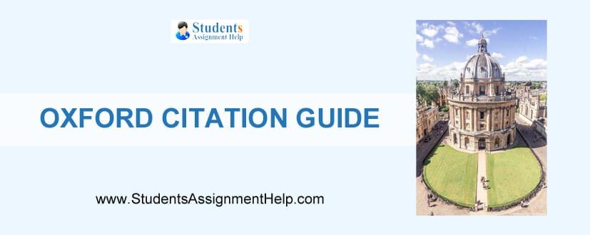 Oxford Citation Guide